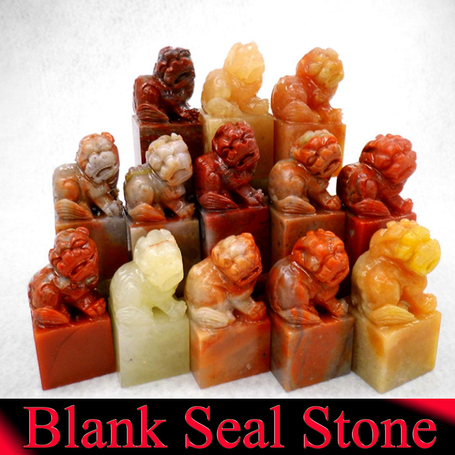 1 piece Blank Chinese Seal Stamp Stone for Painting Calligraphy Seal Cutting Stone Art Supplies Set dragon chinese stamp name seal stamper hand carft engraving paintint seal art craft figure stone
