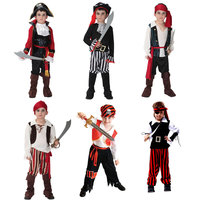Halloween Costume For Boy Boys Kids Children Pirate Costumes Fantasia Infantil Cosplay Clothing