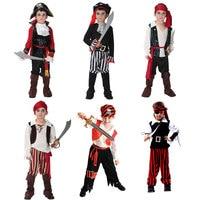 Halloween Costume For Boy Boys Kids Children Pirate Costumes Fantasia Infantil Cosplay Clothing