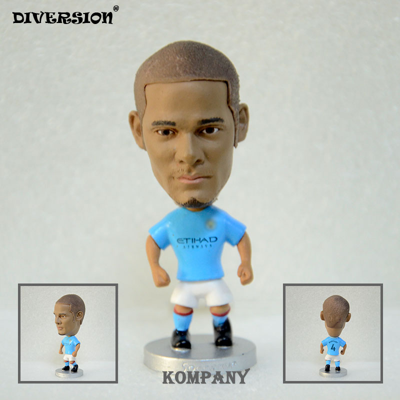 Soccer Star footballer figure 4# KOMPANY (MC-2018) 2.5 Action Dolls Figurine soccerwe