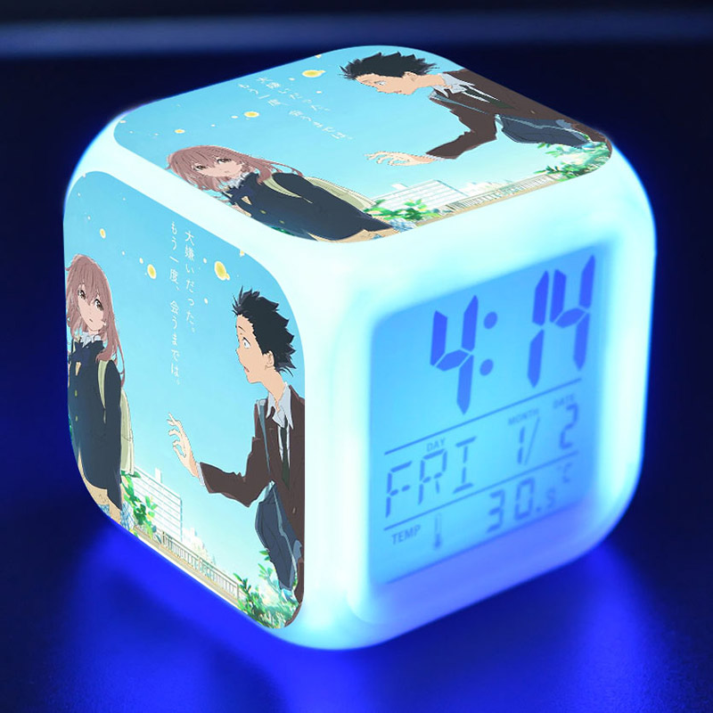 Objective Bare Bear Anime Figure Juguetes Led Colorful Touch Light Alarm Clock We Bare Bear Anime Figuras Kids Toys High Quality And Inexpensive Back To Search Resultstoys & Hobbies