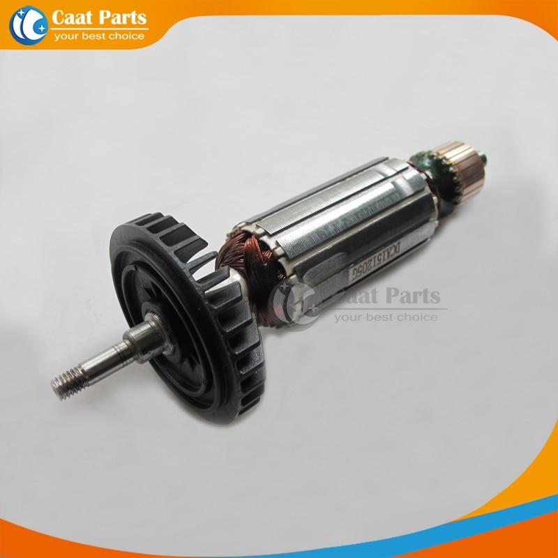 AC 220V Drive Shaft Electric Hammer Armature Rotor for Makita 9556NB 9556HN 9557NB 9558HN , High-quality!Free shipping! replacement 12v 14teeth dc motor for makita electric hammer 6270dwe 6271d high quality