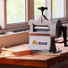 8116 Leather paring machine Manual swing leather skiver hand leather peel tools vegetable tanned leather splitter
