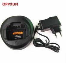 OPPXUN 5PCS OPPXUN Black Ni-MH Battery Charger for Motorola Walkie Talkie CP185 EP350 CP476 CP477 CP1300 CP1600 CP1660 P140