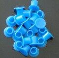 1000 Unids 11.5mm Interior de Plástico De Gran Tamaño Azul Tatuaje Taza Pigmento de Tinta autónomo/Gorras Fuentes Del Tatuaje Cápsulas de tinta Caps Supply