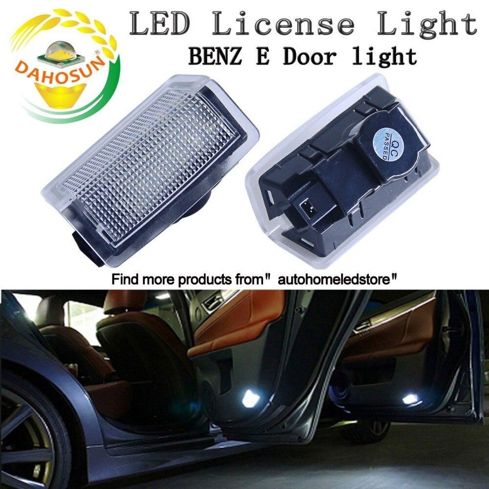 2PC LED courtesy light/LED Door light for Benz E Door Light with Emark certificate