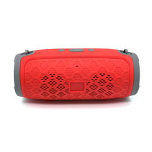 Portable wireless Bluetooth speaker small drum model compartment FM speaker outdoor multi-functional stereo Bluetooth speaker