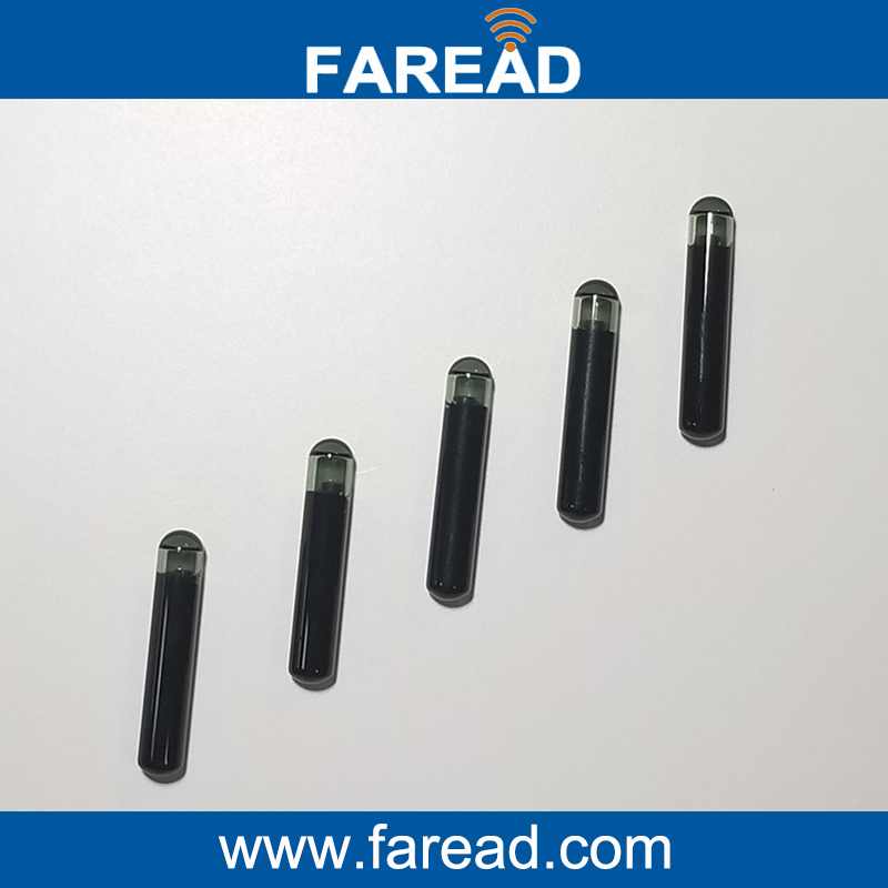 X40pcs  High Tech Large Size TI HDX BDE  4*22mm/3.85*22.5mm RFID Microchip Transponder