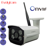 HD 1080P 2MP Wireless IP Camera Micro SD TF Card Onvif P2P Phone View Wifi CCTV