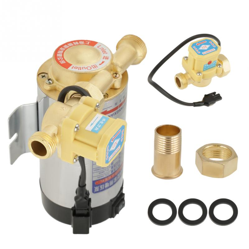 100W Automatic Boost Pump Household Stainless Steel Water Boost Pump for Tap Water Pipeline 220V