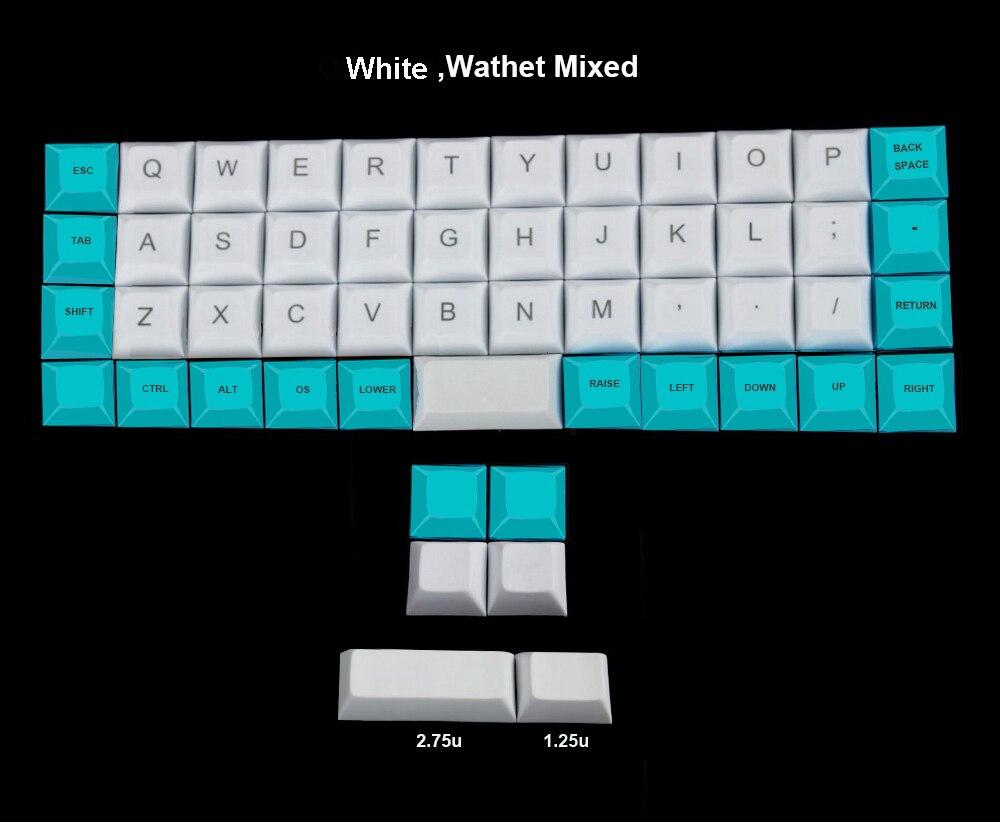 stainless steel bent case for jj40 JJ40 40% custom keyboard acrylic ...