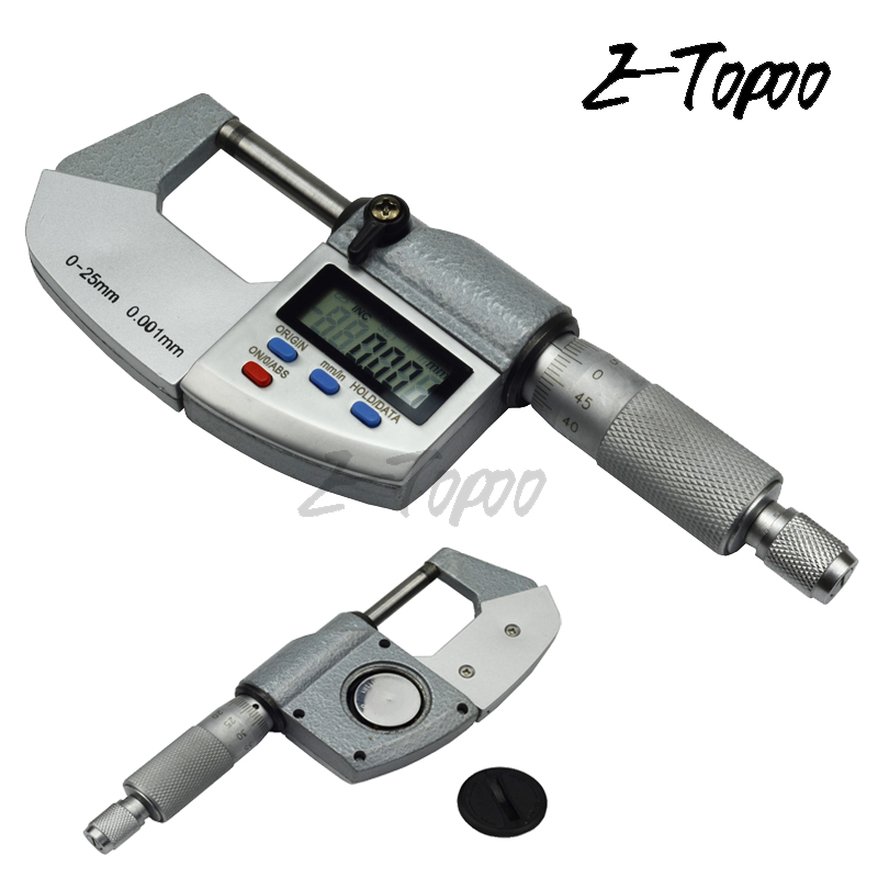 IP65 water proof 0 25mm 0 00005 0 001mm digital micrometer electronic outside micromet thickness caliper