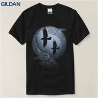 T Shirt Summer Vikings TV Series Odin S Raven Ragnar Lodbrok White Summer Sportwear Casual T