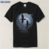 T Shirt Summer Vikings TV Series Odin S Raven Ragnar Lodbrok White Summer Sportwear Casual T