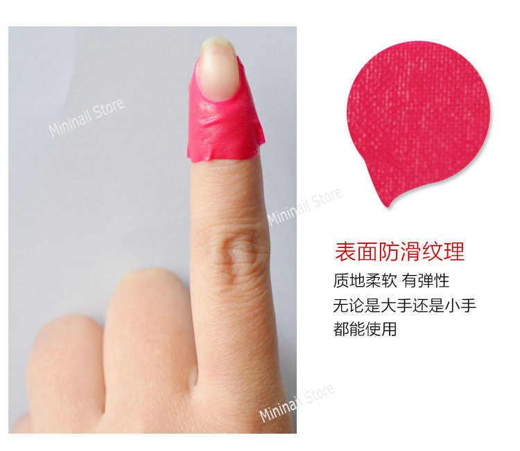 10 stiker Kuku Perlindungan Tape Decals Nail Protector Sticker Pro Manicure Finger Nail Art Alat Tips Sampul Polish Perisai Kulit