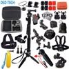 Gopro Hero 5 Session Accessories Black Extendable Handheld Monopod Mini Tripod For Action Camera Sjcam Sj5000