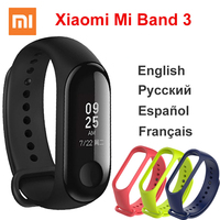 Origina Xiaomi Mi Band 3 4Smart Wristband Fitness Bracelet Big Touch Screen OLED Message Heart Rate Time Smartband