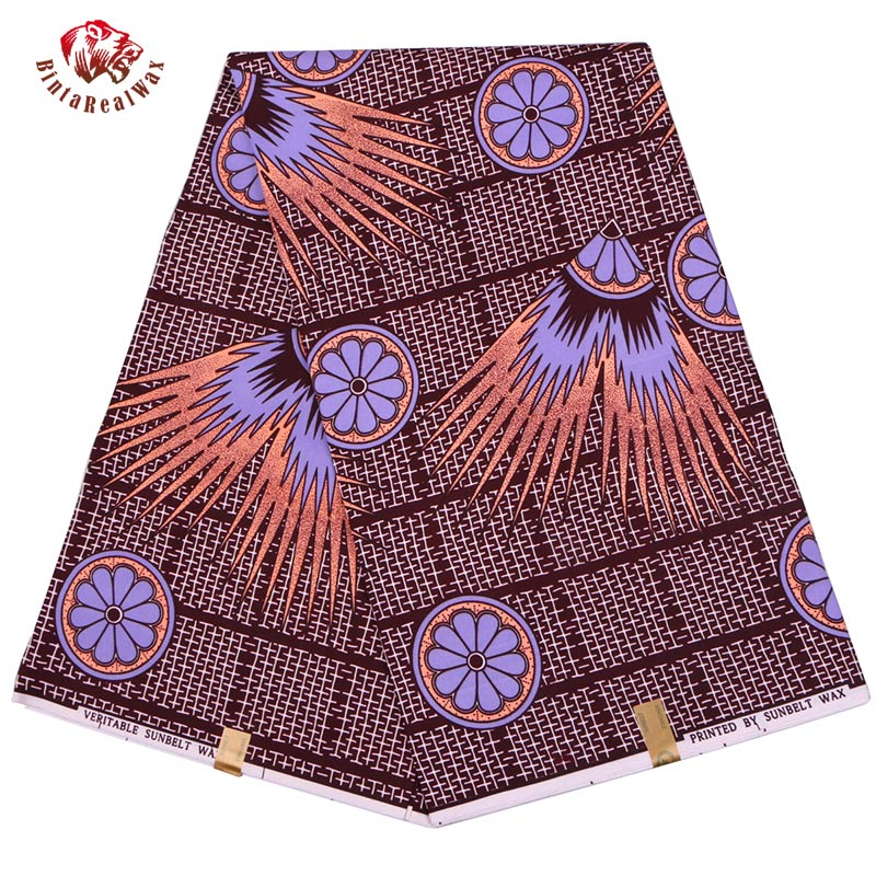 2019  Polyester Wax Prints Fabric 2019 Ankara Binta Real Wax High Quality 6 yards  African Fabric for Party Dress FP61312019  Polyester Wax Prints Fabric 2019 Ankara Binta Real Wax High Quality 6 yards  African Fabric for Party Dress FP6131
