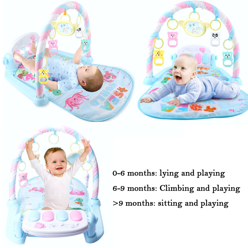 HTB1wrlSelGE3KVjSZFhq6AkaFXao Baby Rocker Piano Music Carpet Newborn Fitness Bodybuilding Frame Pedal Rocking Chair Activity Play Education Toy