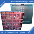 960mm x 960mm Outdoor P10 Full Color LED display empty Standard Waterproof Cabinet
