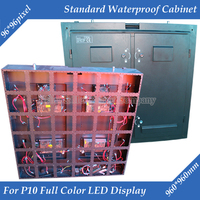 960mm x 960mm Outdoor P10 Full Color LED display lege Standaard Waterdichte Kast|cabinet frame|p10 outdoor led displaycabinet clips -