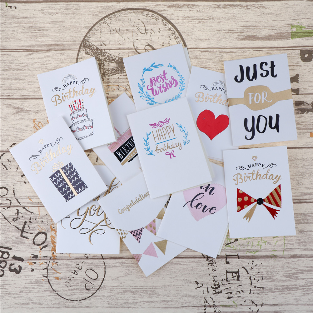 Best Wishes Paper Kids Envelope Greeting Cards Birthday Cards Cute