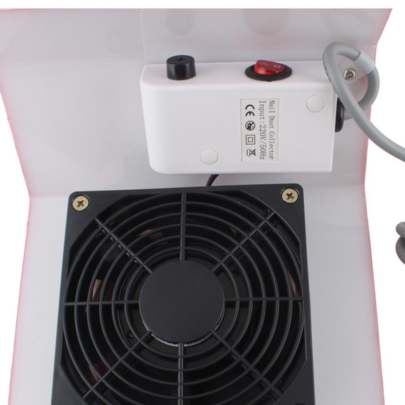 Nail Air Dryer: 220V/110V Nail Art Cacuum Cleaner Air Dryer For Gel Polish