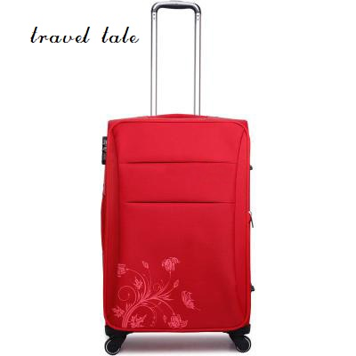 travel tale 16/20/24 Inch Rolling Luggage Spinner brand Travel Suitcase  Oxford cloth fabrics, fashion and durable
