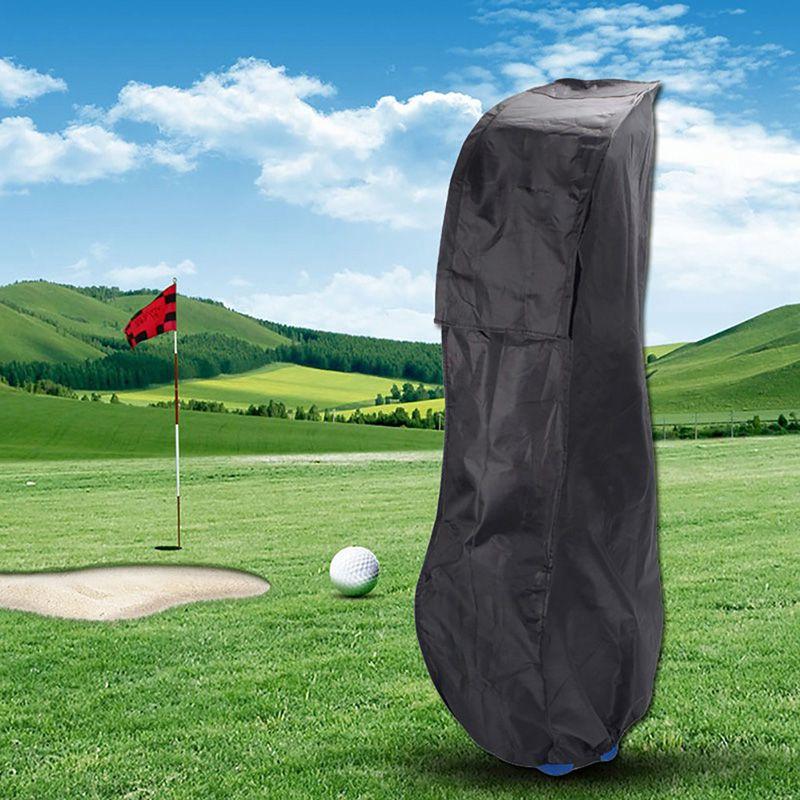 Golf Bag Waterproof Dustproof Golf Rain Cover PVC Shield Outdoor Rod Protector Transparent Store Anti-dust Standard Ball