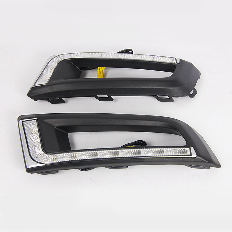 Daytime Running Lights DRL / For Volkswagen New Santana 2013~2016 / Car LED  Warning Light / Day Driving Lamp With Lamp Hole
