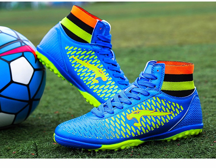 2017 High Ankle Superfly Boys Kids Football Boots Cheap Indoor Soccer Shoes Cleats Girls Sneakers High Quality voetbalschoenen10