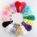 Fascinator bebe menina Vendas de la flor del bebé venda de las muchachas headwear venda del pelo del niño recién nacido