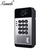 I20s VOIP аудио домофон электронный протокол SIP дверной звонок с PoE питание