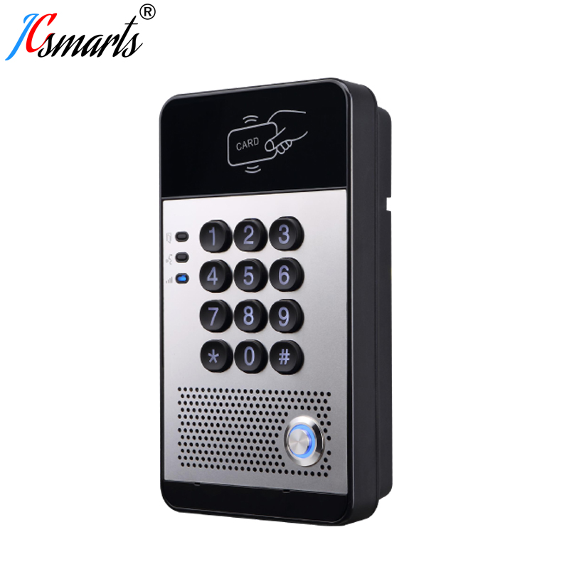 I20s VOIP Audio interphone téléphone électronique SIP protocole porte cloche avec PoE alimenté
