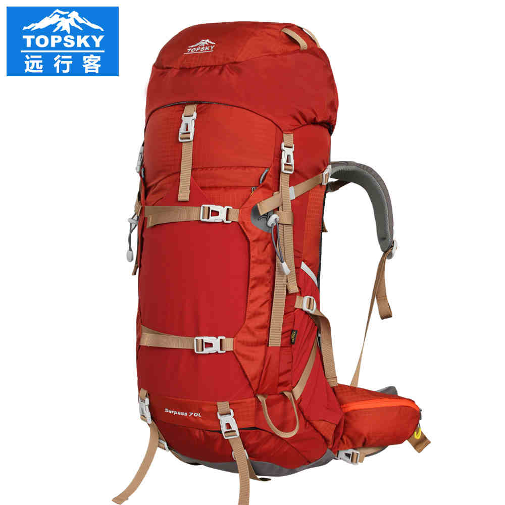 Topsky 70l Camping Bag Professional Climbing Backpack Sport Men Women External Frame Hiking Mochilas Sports Bags In From