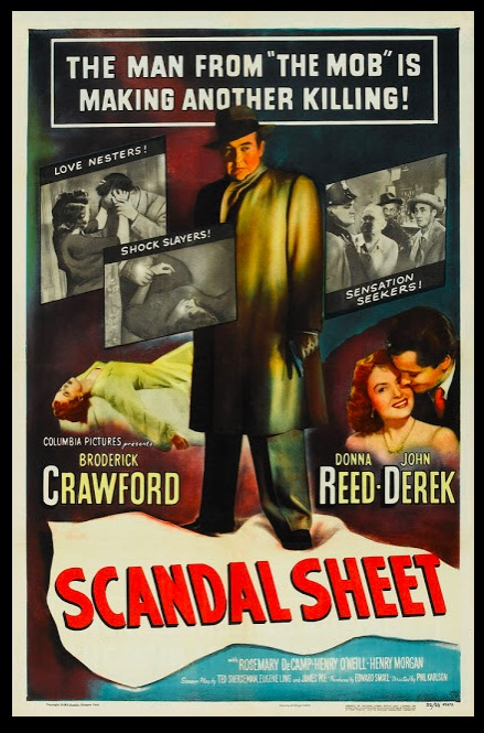 Scandal Sheet Beauty Classic Movie Film Noir Retro Vintage Poster Canvas Painting DIY Wall Paper Home Decor Gift image