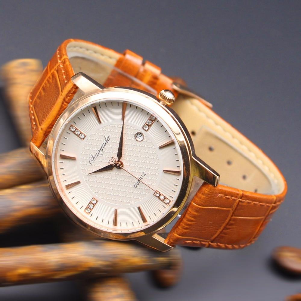 Mens Watches Top Brand Luxury Date Quartz Watch Man Leather Sport Wrist  Watch Men Waterproof Fashion Clock Montre homme