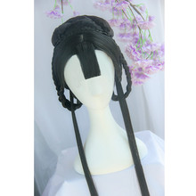 80cm ancient princess style hair halloween cosplay classic vintage accessories for women