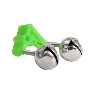Image 4 - 2 Pcs Sea Fishing Rod Bell Accessories Tip Bite Lure Alarm  Fish Double Bell Ring