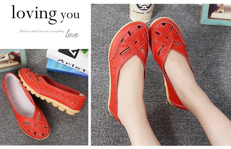 AH1165 (12) Women's Loafers Shoes
