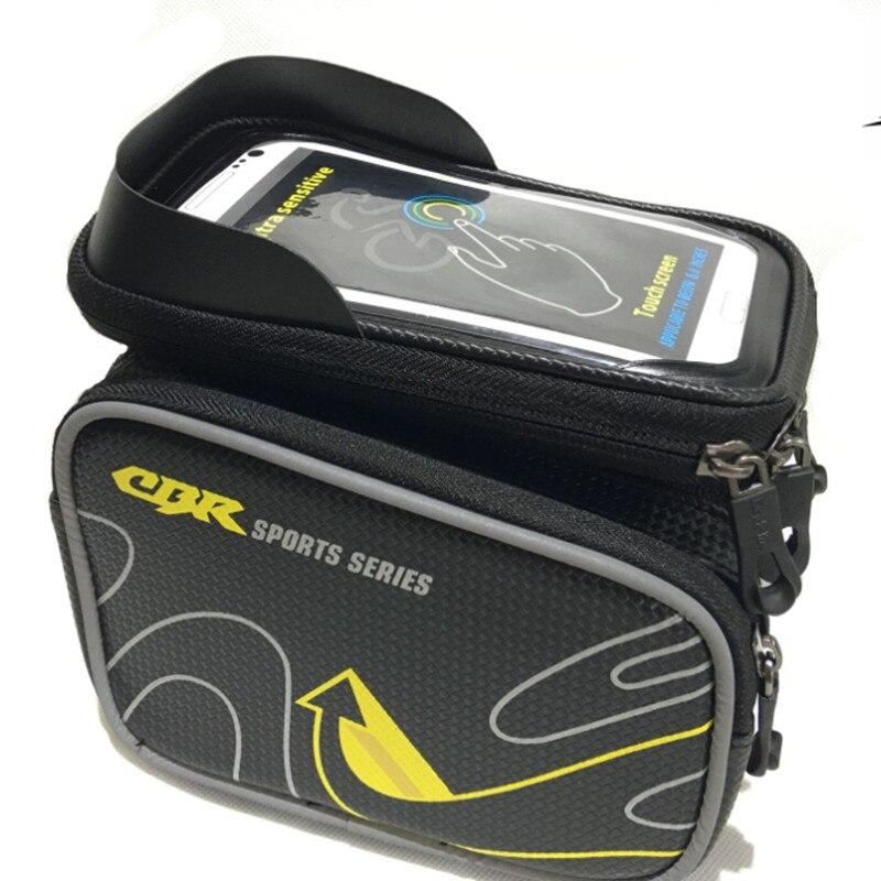 Q157 haute qualité en plein air écran tactile mobile téléphone paquet EVA anti impact vélo sac de selle paquet sac de faisceau sac étanche 5.7 dans Sacs de vélos et sacoches de Sports et loisirs