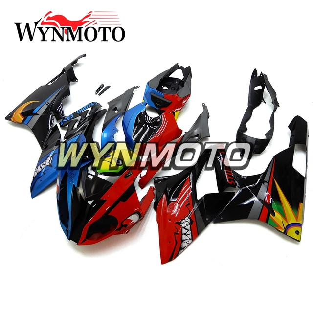 Complete Red Blue Fairings For Bmw S1000rr 2015 2016 15 16 Year Abs