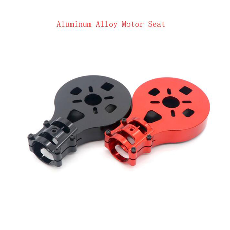 1PCS EFT 30mm Agriculture Drone Aluminum Alloy Motor Mount Holder Seat for 8018/8010/Q9XL/Q9L/Q6L/9015 Motor DIY Multicopter 4 pcs agriculture drone water tank aluminum alloy fixed parts