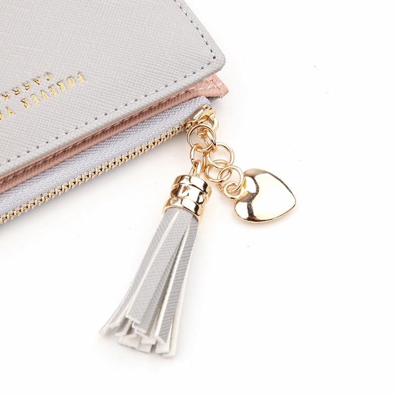 Wallet Female For Coins Cute Wallet Women Small Leather Women Wallets Zipper Purses Portefeuille Wallet Female Purse Clutch #3
