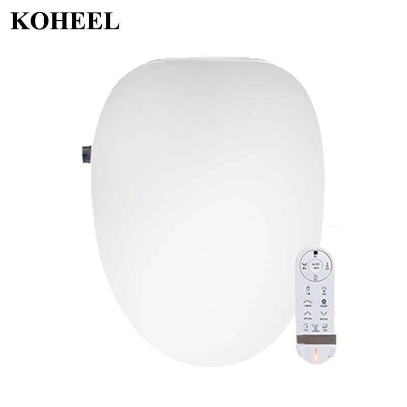 все цены на Child Temperare display Intelligent Toilet Seat Smart Toilet Cover Electric Remote Toilet Body Bidet Cleaner Side side press K5 онлайн