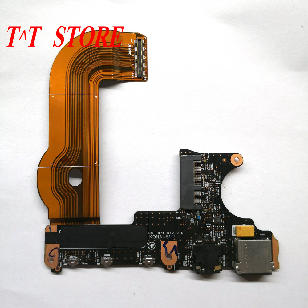 "For Lenovo ThinkPad  Yoga 2 Pro 13.3/"" Audio /& USB Board NS-A071"