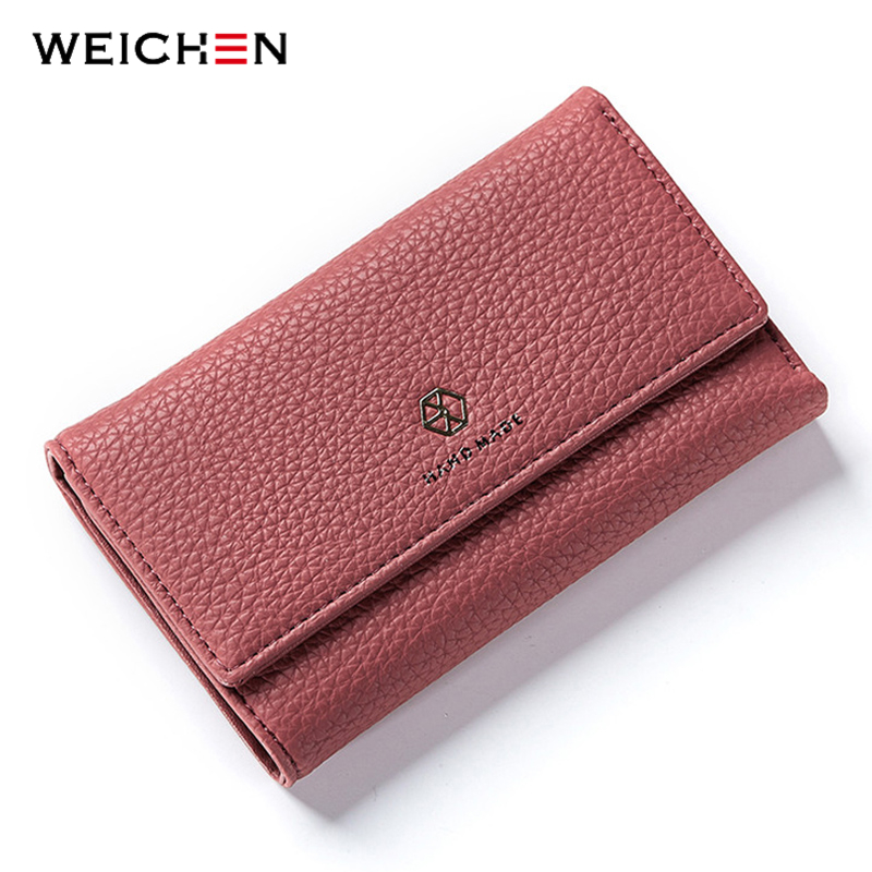 WEICHEN Famous Brand Designer Luxury Women Long Wallet Fashion Clutch Wallets Female Bag Ladies Money Card Coin Purse Carteras sheffilton вешалка sheffilton sht cr450 hnphcpn