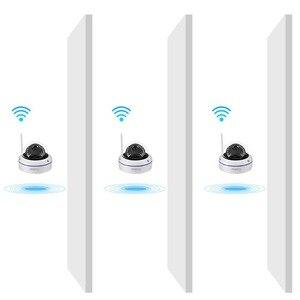 Image 2 - Gadinan WiFi Camera Wireless IP Camera 2MP 1080P 1MP Dome Night Vision Vandalproof Audio Record Max 128G TF Card Slot Yoosee