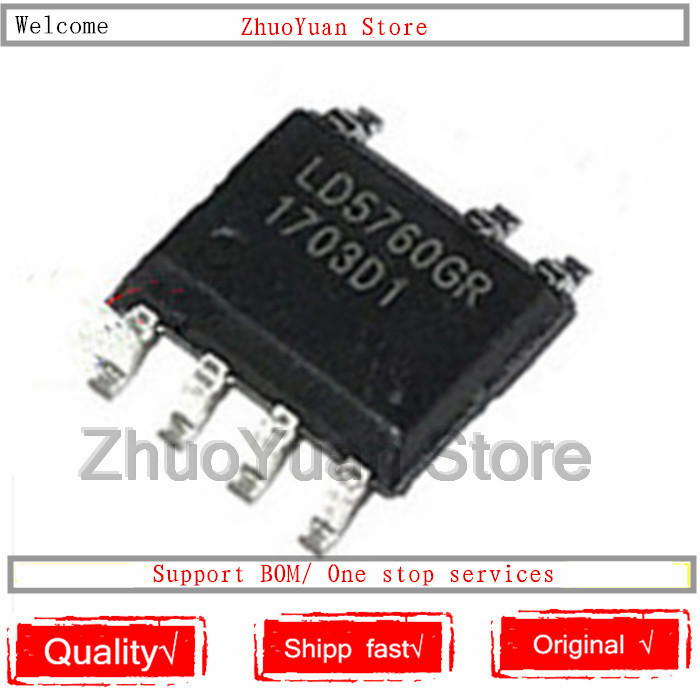 1PCS/lot LD5760GR LD5760AGR LD5760 SOP-7 IC Chip New Original