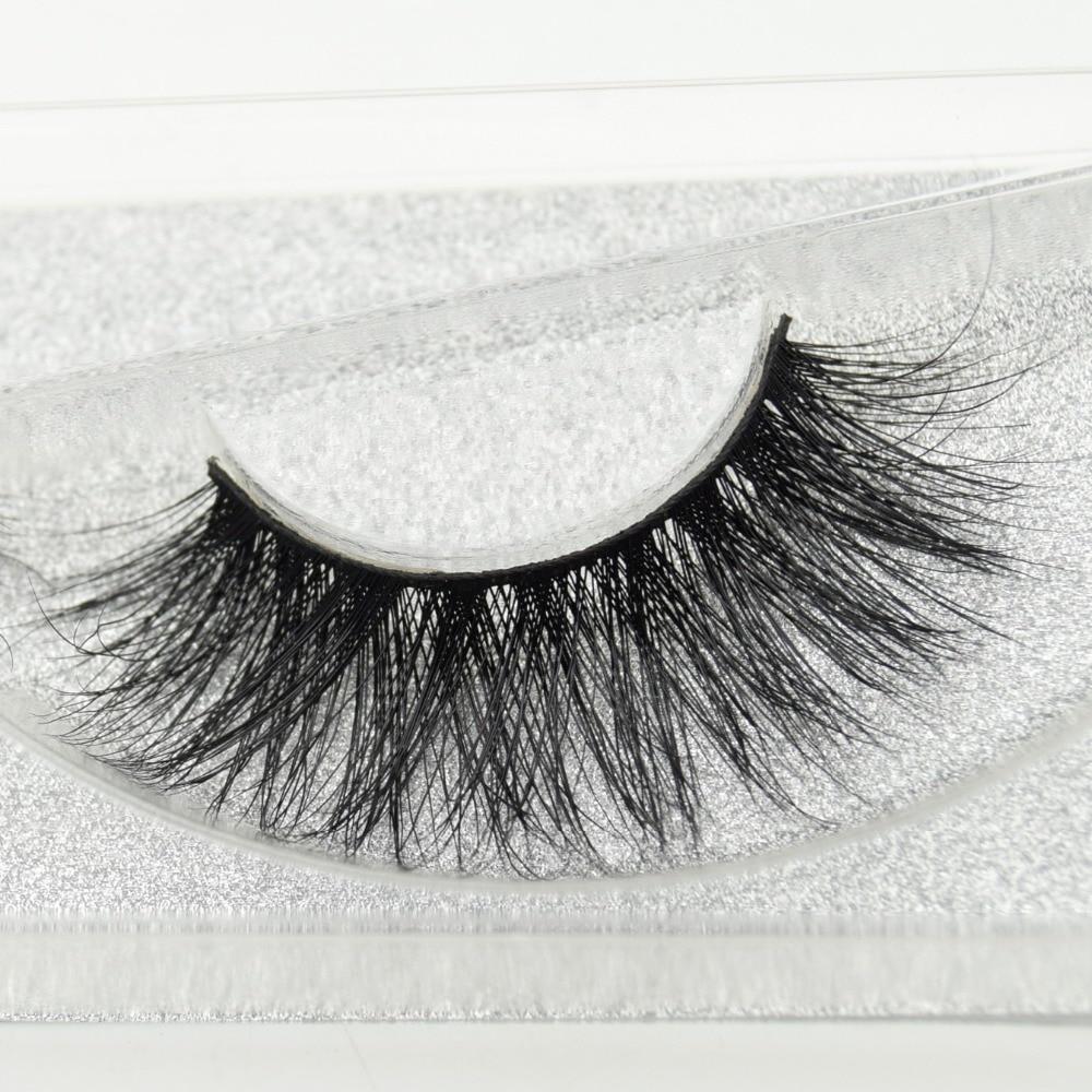 241b3ecac2b visofree Full Strip 3D Lashes 100% Real Mink Lashes Handmade Thick  Crisscross Curly Eyelashes False Eyelashes New Arrival D22